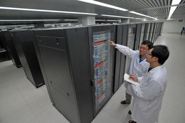 The Chinese Tianhe-1A supercomputer:  It's the interconnect, stupid!