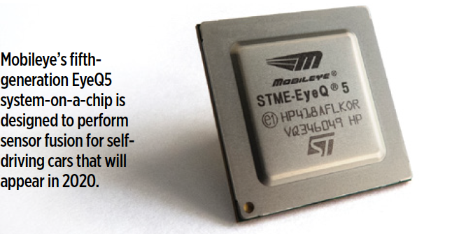 Good SAE Automotive Engineering article about Mobileye