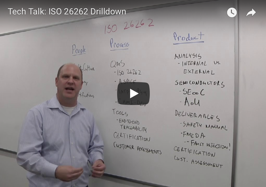 Semiconductor Engineering: Tech Talk - ISO 26262 Drilldown Video