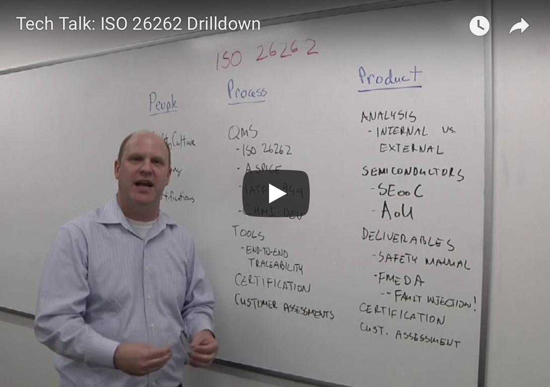 Semiconductor Engineering: Tech Talk - ISO 26262 Drilldown Video